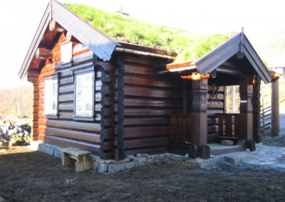 hytte i laft – 24