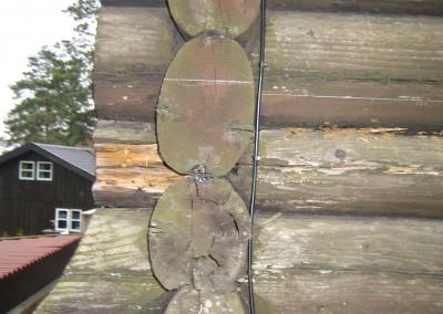 restaurering av tømmer ved råteskade – 12
