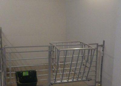 Bygging av kalveavdeling i fjøs - 1