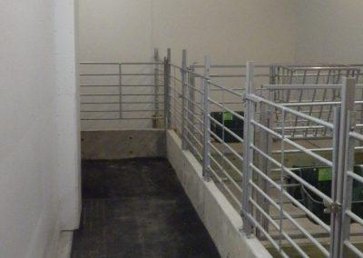 Bygging av kalveavdeling i fjøs - 3