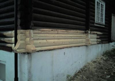 restaurering av tømmer ved råteskade - 15