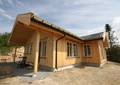 hytte i Valdres, bygd i bindingsverk -1