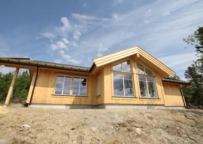 hytte i Valdres, bygd i bindingsverk -2