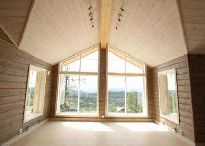 hytte i Valdres, bygd i bindingsverk -4