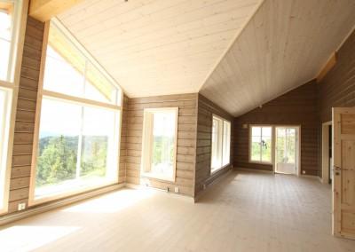 hytte i Valdres, bygd i bindingsverk -5