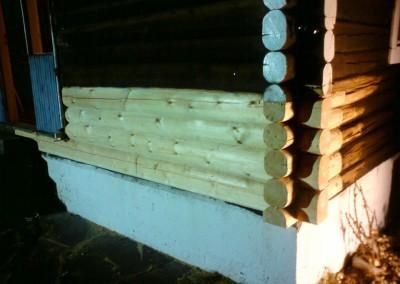 restaurering av tømmer ved råteskade 10