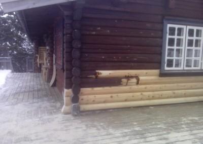 restaurering av tømmer ved råteskade-28