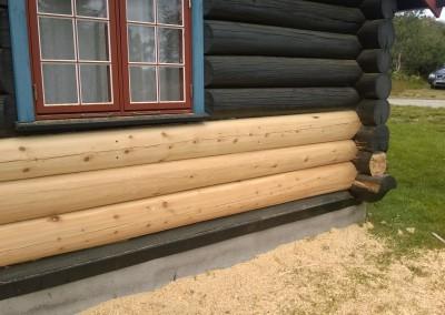 restaurering av tømmer ved råteskade-33