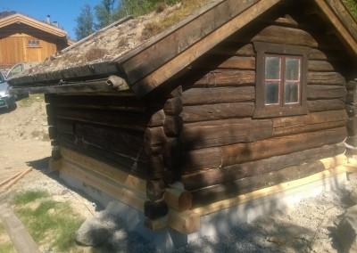 restaurering av tømmer ved råteskade - 40