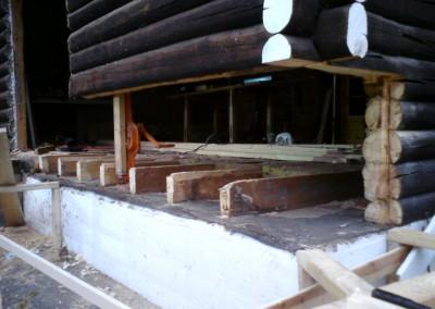 restaurering av tømmer ved råteskade 9