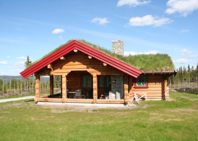 hytte i laft – 1