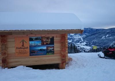 demohytte fra Isolaft i Gol Skipark - 2