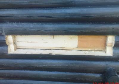 restaurering av tømmer ved råteskade – 5