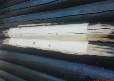 restaurering av tømmer ved råteskade – 6