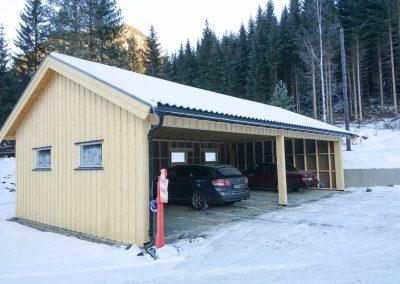 Garasje i bindingsverk-2