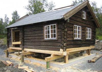 restaurering av tømmer ved råteskade – 4
