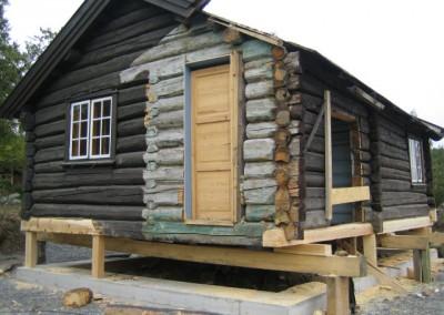 restaurering av tømmer ved råteskade – 3