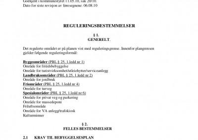 Reguleringsplaner for Auenhauglia-1