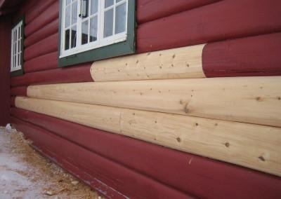 restaurering av tømmer ved råteskade – 2