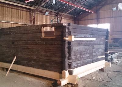 restaurering av tømmer ved råteskade-30