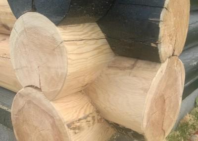restaurering av tømmer ved råteskade-34