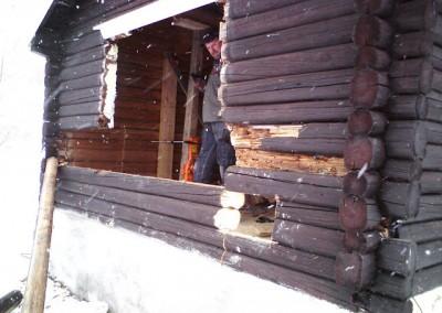 restaurering av tømmer ved råteskade 7
