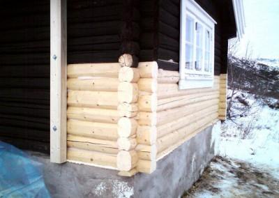 restaurering av tømmer ved råteskade 8