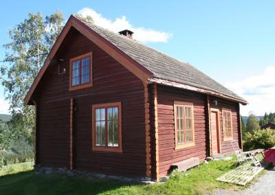 restaurering av hus og hytter - 1