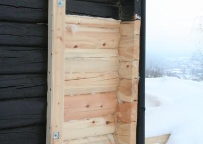 restaurering av tømmer ved råteskade – 1