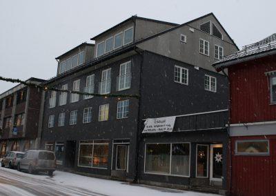 Fasade på Sundrevegen 81 AS-1
