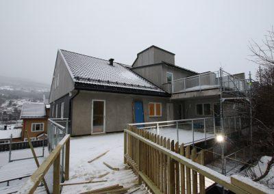Fasade på Sundrevegen 81 AS-2