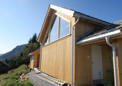 panelering og etterisolering av gammelt tømmerhus -1