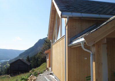 panelering og etterisolering av gammelt tømmerhus -3
