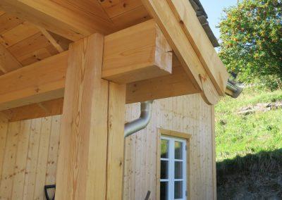 panelering og etterisolering av gammelt tømmerhus -5