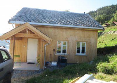 panelering og etterisolering av gammelt tømmerhus -6