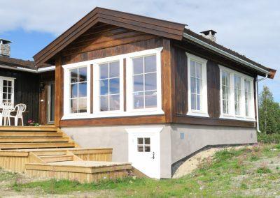 tilbygg hytte -11