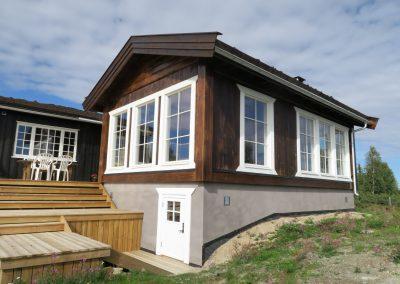 tilbygg hytte -12