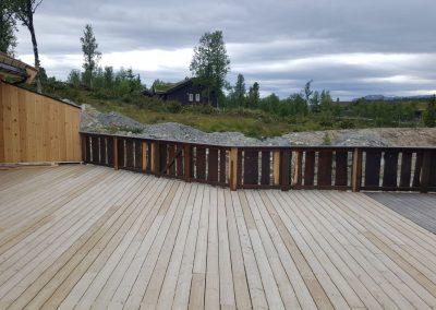 tilbygg hytte med utestue og veranda -4
