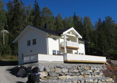 bolighus i bindingsverk på Torpo-1