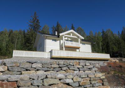 bolighus i bindingsverk på Torpo-3