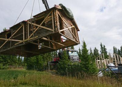restaurering og tilbygg stølsbu på Grønliåsen-1