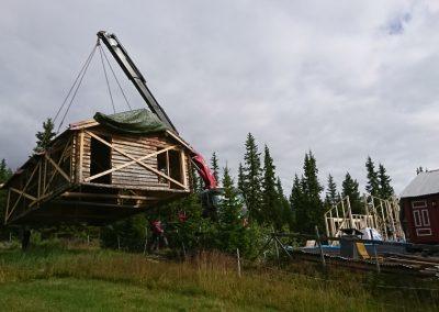 restaurering og tilbygg stølsbu på Grønliåsen-2